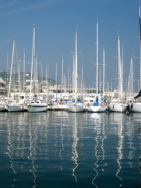 Beautiful view of Cannes