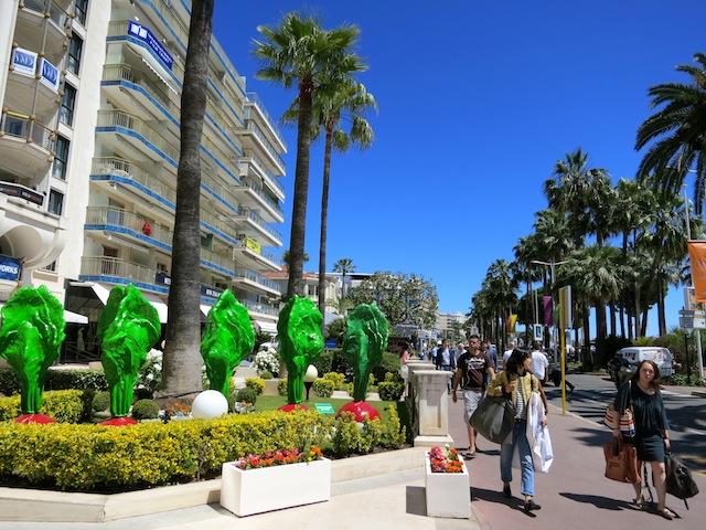 Boulevard de la Croisette during Cannes Film Festival