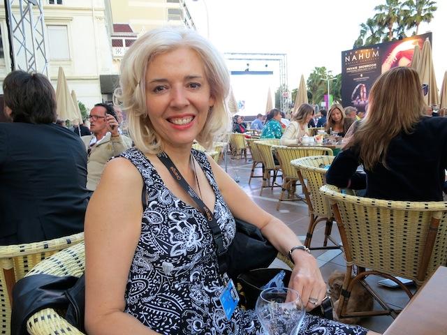 Wandering Carol travel blogger at Cannes Film Festival Carlton Hotel
