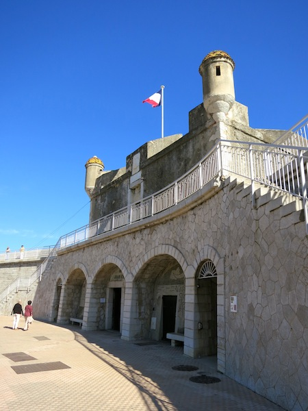 Bastion, a Jean Cocteau sight in Menton South of France