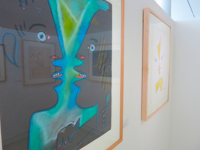 Paintings by Jean Cocteau at Cocteau Museum