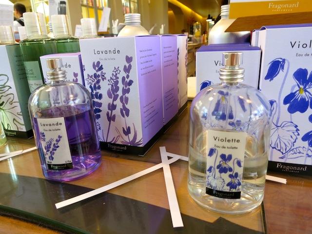 Violette and lavender perfume Fragonard Factory