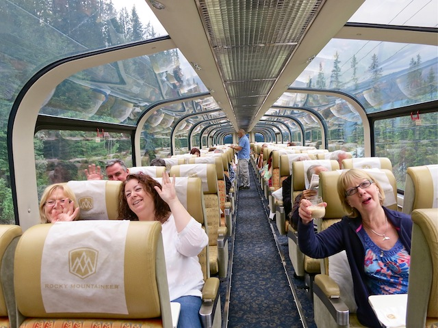 How to meet people on the Rocky Mountaineer