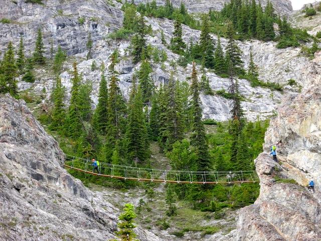 Via Ferrata at Mount Norquay in Banff Alberta