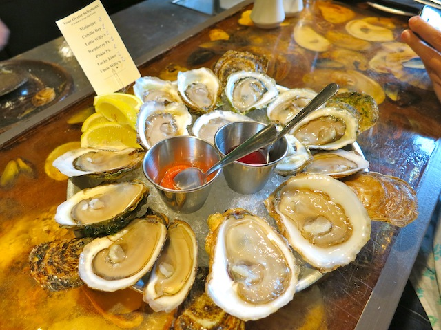 What to do in Canada: eat PEI Oysters