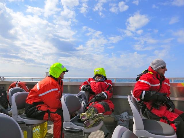 Boat adventure in Churchill Manitoba