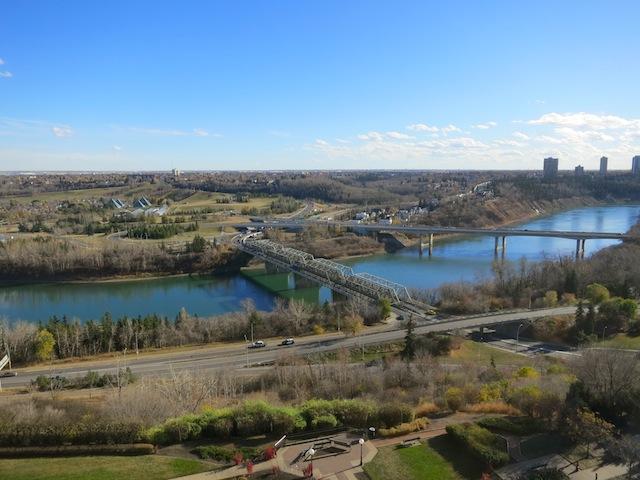 North Saskatchewan River Edmonton
