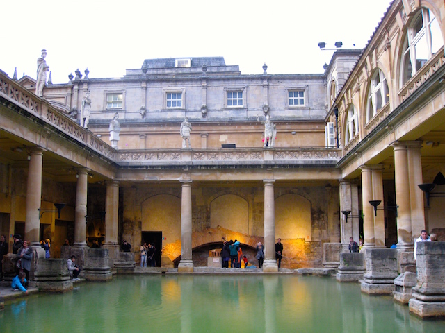 Best European destinations Bath spa town
