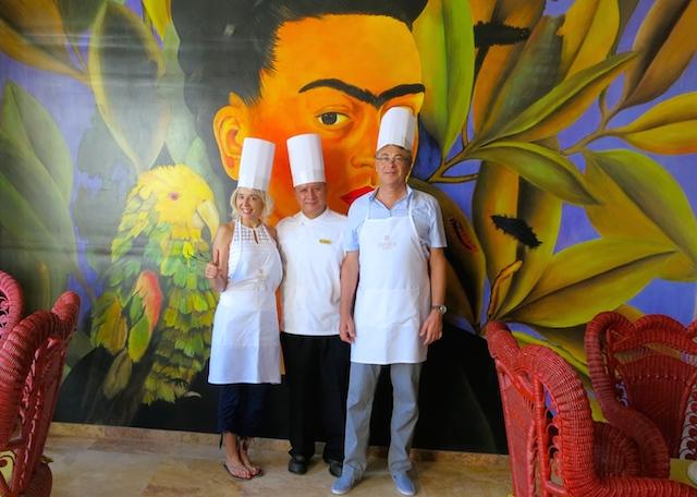 A Grand Velas food romance