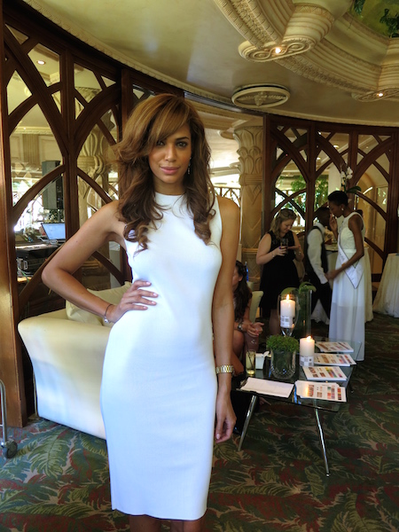 Former Miss South Africa Tatum Keshwar at Sun City Africa