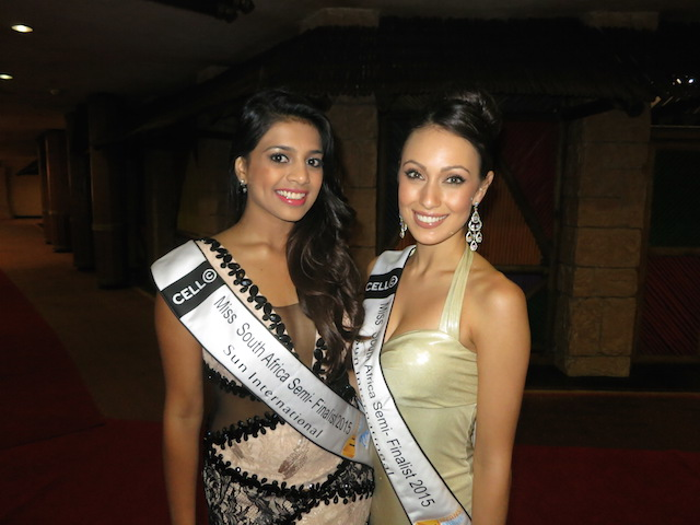 Miss South Africa contestants at Sun City Africa