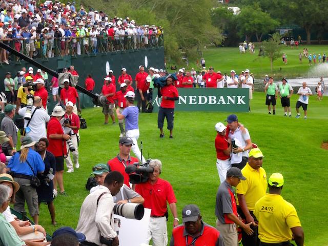 Celebration Pro golfers and romance at Sun City Nedbank Challenge
