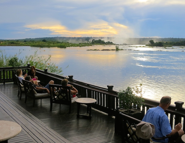 A travel blogger's year in review. Through sunsets. Zambia