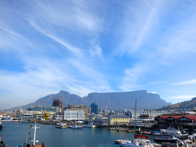What to do in Cape Town visit Table Bay