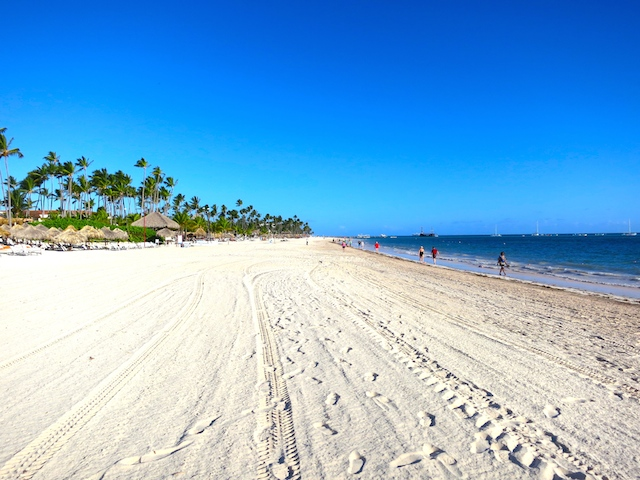 Beautiful beach at Paradisus Pamla Real