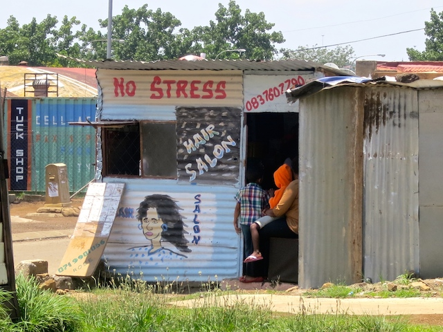 One day in Johannesburg, South Africa homegrown business in Soweto