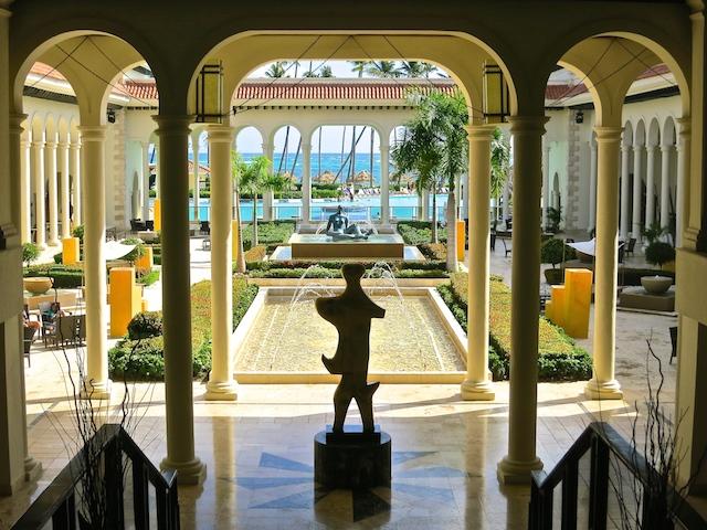 Paradisus Palma Real, Punta Cana, Dominican Republic lobby