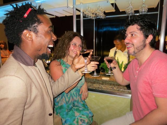 Cocktails at the M Bar, Paradisus Palma Real, Punta Cana, DR