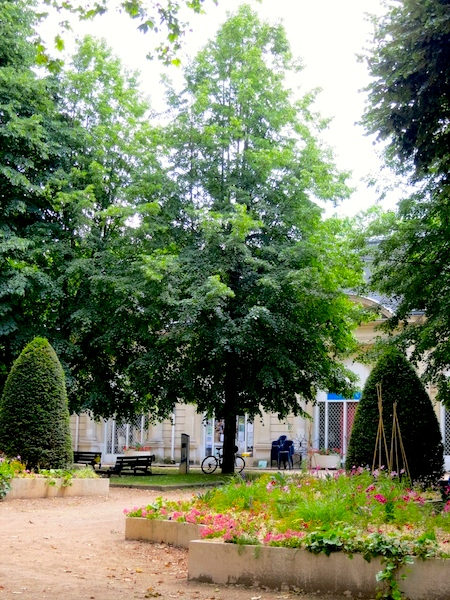 French spa, Vichy, France the spa park