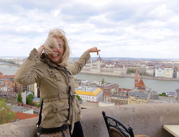 Luxury travel blogger wanderingcarol.com in Budapest