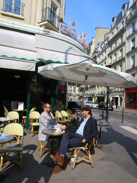 Famous Montparnasse cafes, Paris, Le Select