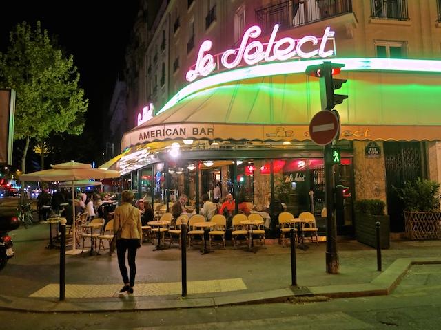 Visiting Montparnasse Le Select