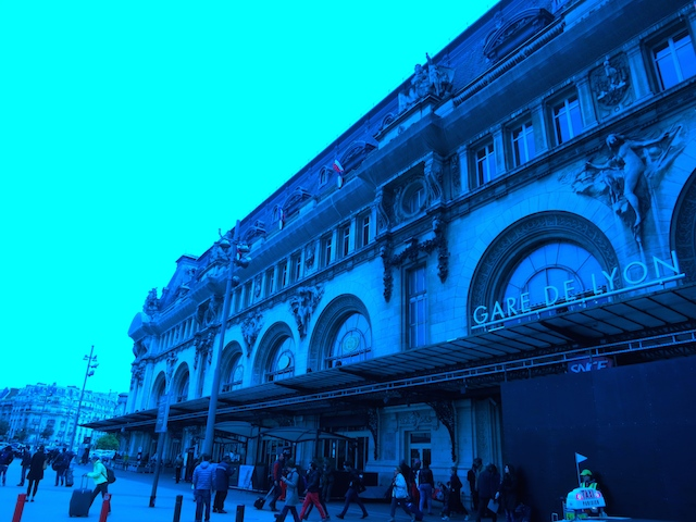 Le Train Bleu at Gare de Lyon train station, Paris