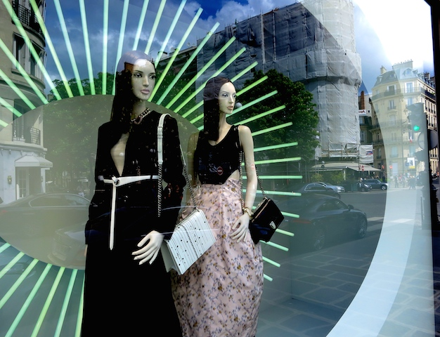 French fashion, a window shopping in the footsteps of Coco Chanel in Paris