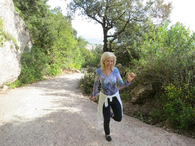 WanderingCarol.com at Montserrat Mountain, Spain