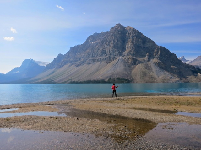 Bow Lake, Icefields Parkway Canadian Rockies