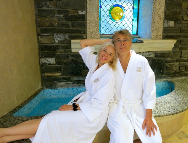 Romance at the Fairmont Banff Springs spa