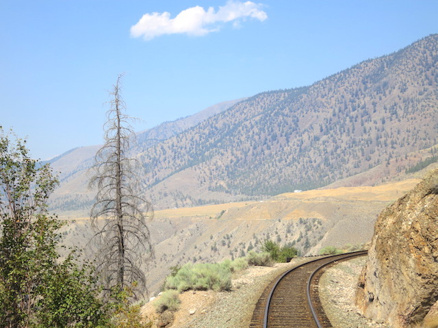 Fraser Canyon, Romantic train ride, Rainforest to Goldrush Rocky Mountaineer
