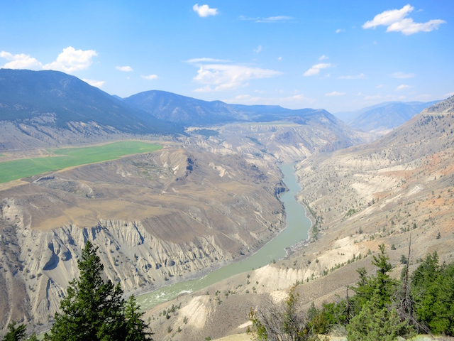Rainforest to Goldrush route Rocky Mountaineer Fraser Canyon