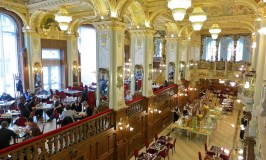 How I afford luxury travel New York Cafe Boscolo Budapest hotel