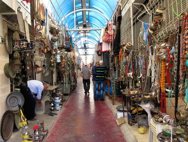 One day in Old Jaffa Tel Aviv, flea market