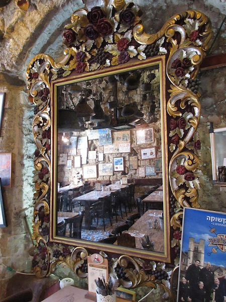One day in Old Jaffa Tel Aviv, unique cafe