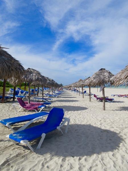 Beach at Paradisus Princesa del Mar