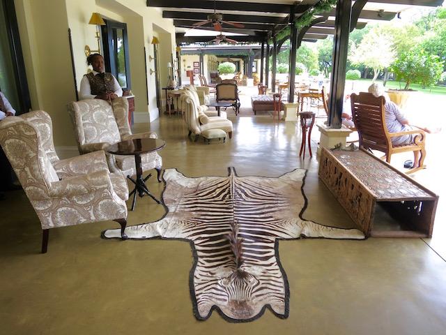 Best hotel in Victoria Falls, Royal Livingstone Hotel