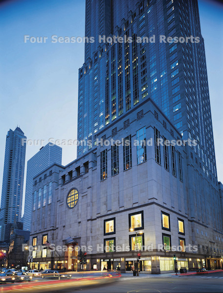 Weekend in Chicago, Four Seasons Hotel
