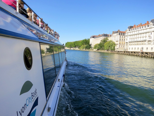 What to do in Lyon, take a boat cruise