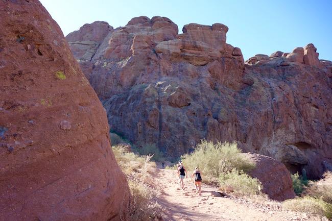 Hiking Camelback Mountain
