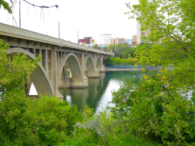 Saskatoon travel, Broadway bridge
