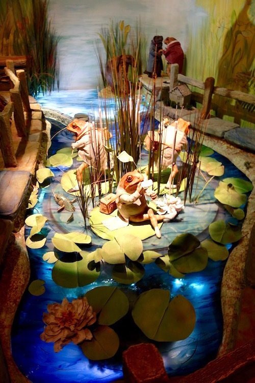 Beatrix Potter Attraction, Jeremy Frog, Bowness