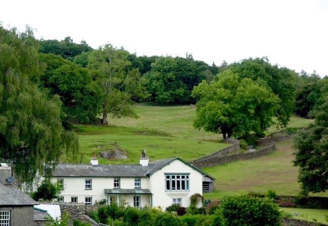Beatrix Potter sights Lake District Castle Farm