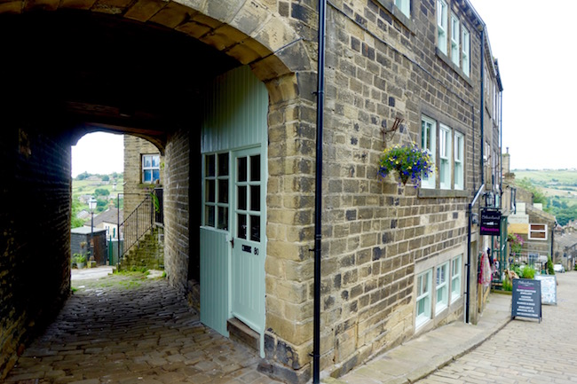 View from Haworth England, the Bronte village