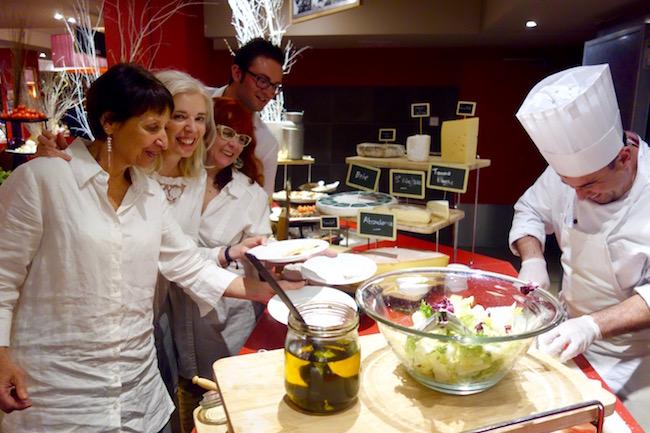 Club Med Peisey Vallandry buffet