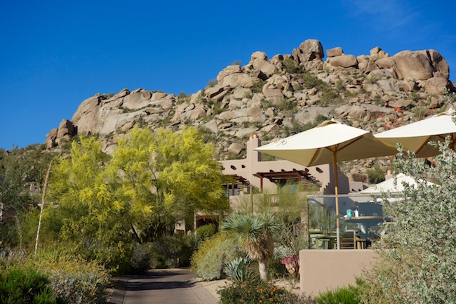 Four Seasons Scottsdale Resort mountains