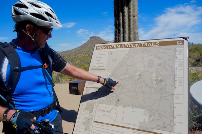 Scottsdale mountain biking with Arizona Outback Adventures