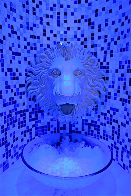 Spa Ice room at the Gainsborough Bath Spa hotel