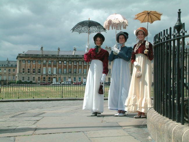 Spa like Jane Austen in Bath, Festival photo
